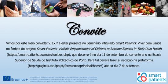 """""""Viver com Saúde"""" - convite"""