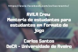 FORMAÇÃO PEDAGÓGICA //  Mentoria de estudantes em formato de jogo AVILA Crew