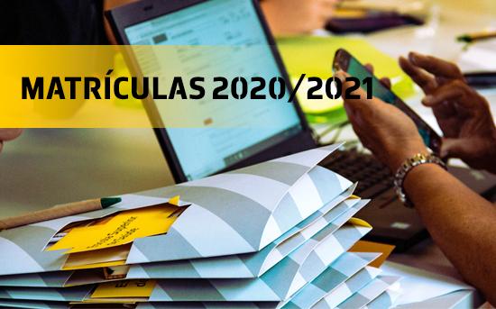 Instruções de Matrícula para o ano letivo 2020/2021 - 2ª FASE