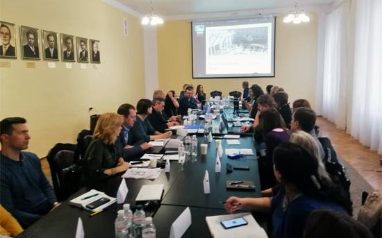 Kick-off meeting Projeto UKROTHE - ERASMUS +