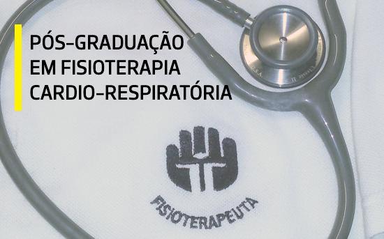 PG em Fisioterapia Cardio-Respiratória | Candidaturas Abertas