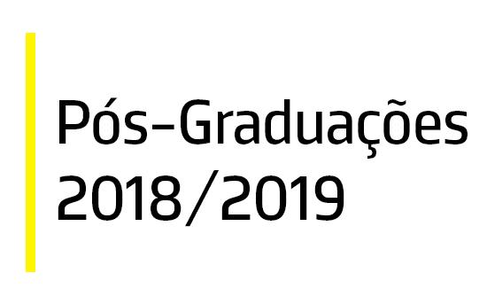 Pós-Graduações ESS // 2018/2019