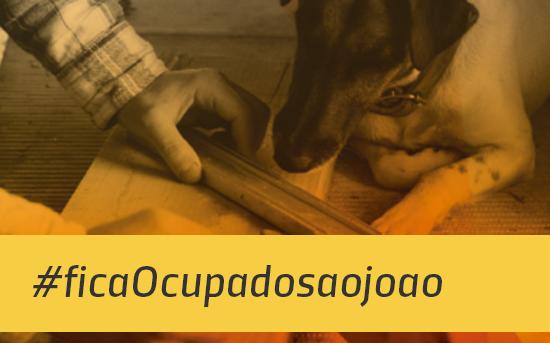 Projeto #ficaOcupadosaojoao em parceria com a ATC de Terapia Ocupacional