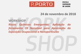 Workshop // ATC Saúde Ambiental sobre Exposição Ocupacional a Nanopartículas
