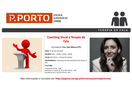 Terapia da Fala// Coaching Vocal e Terapia da Fala
