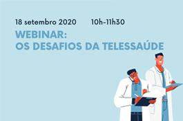 WEBINAR | Desafios da Telessaúde